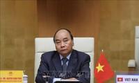응우옌 쑤언 푹 총리, 코로나 19 대응 관련 G20 화상 정상회의 참석