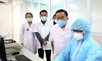 하띤성, 코로나19 진단검사실 설치