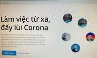 정보통신응용국, 코로나19 상황 웹사이트 구축
