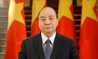 응우옌 쑤언 푹 (Nguyễn Xuân Phúc) 총리, WHO 온라인회의에 메시지 전달