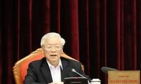응우옌 푸 쫑 (Nguyễn Phú Trọng) 당 서기장 국가주석, 13기 당대회 인사 업무 준비 업무에 대한 기고문 게재