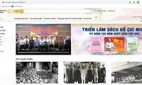 호찌민 주석 관련 도서 500권 온라인 전시회 소개