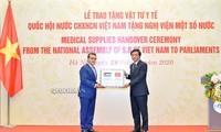 베트남 국회, 일부 아프리카 및 중동 국가 의회에 의료 물자 전달