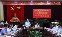 응우옌 쑤언 푹 국무총리, 박닌성 지도부와 공무 수행