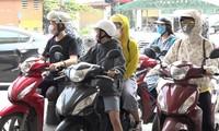 하노이와 북부 지방,섭씨 40도 이상의 장기적인 열파에 진입 중
