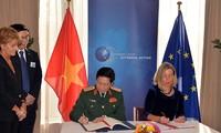 베트남 - EU 국방 협력 강화