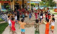 베트남의 우선 보호 대상인 어린이