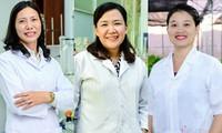 베트남,100 대 과학자 명단에 3 명의 여성 과학자가 선정되었다