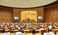 6월 19일, 제14기 국회 9차 회의 폐막