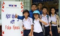 """NO Fake News"" 프로젝트를 계속 전파"