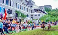 '구름을 달리는 말' 경마 대회, 서북의 아름다움을 되살려