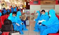 독일, 쿠바, 코트디부아르, 기타 아프리카와 유럽 국가발 540 여 명의 베트남 국민을 무사히 귀국 조치