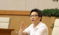 """부득담 부총리: """"코로나19 대형 확산 막아야  한다!"""""""