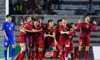 베트남 여자 축구 국가대표팀, 세계 35위