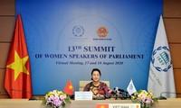 """응우옌 티 낌 응언 국회의장: """"양성 평등 장려와 여권 신장은 베트남 국가의 일관적 정책"""""""
