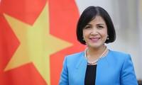 제네바 베트남 대표단, 8월 혁명 75주년 기념식 엄숙히 진행