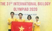 베트남 학생들, 국제생물올림피아드서 수상