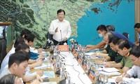 다섯 번째로 강타하는 동해안 폭풍 NOUL에 대응하기 위한 회의