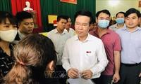 보 반 트엉 중앙선전교육위원장, 동나이성에서 유권자들과 만남