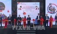 라오 까이성 사파, 한국 문화의 날 행사에 관광객 붐벼