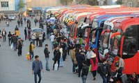 하노이시, 설맞이 광역버스 2,000편 이상 증편 운행