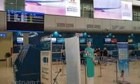 깜라인 공항, 공항보건인증 획득