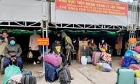 설날 격리를 염두에 둔 베트남 해외 노동자 조기 귀국 조치