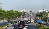 호찌민시, 각종 중점 교통시설 공사에 박차