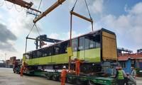 뇬 – 하노이 도시철도의 세 번째 차량, 베트남에 도착