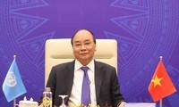 응우옌 쑤언 푹 국무총리, UN안전보장이사회 온라인 고위급 공개토론회에 참석
