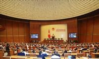 국회, 사법 보고 논의