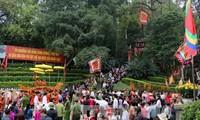 푸토(Phú Thọ)성, 국조 훙브엉 기일 맞아 전국 각지서 6만 관광객 맞이