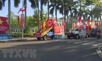 빈프억 (Bình Phước)성, 대형 선거 포스터 전시회