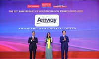 암웨이 베트남, 10년 연속 성공적 FDI 기업 선정