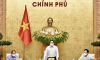 팜 민 찐 (Phạm Minh Chính) 국무총리, 4월 정기회의 주재