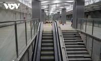 호찌민시, 메트로 1호선 바선(Ba Son)역 지하 1층 역사 완공