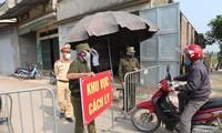 5월 12일 오후 6시부터 5월 13일 오전 6시까지 베트남, 코로나19 신규 확진사례 35건 추가 기록