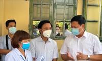 코로나19방역 국가지도위원회, 타이빈 (Thái Bình) 성에서 회의 진행