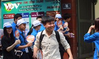 하노이시 학생,  계획보다 이른 여름방학 시작
