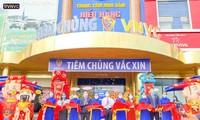 동허이(Đồng Hới)에서, VNVC 속 53차 접종센터 개장