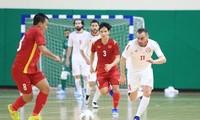 풋살 월드컵 예선 플레이오프: 베트남, 레바논과 무승부