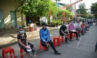 """국제 언론: """"코로나19 팬데믹에도 불구하고, 베트남은 안전한 선거를 시행했다"""""""