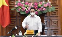 팜 민 찐 (Phạm Minh Chính) 국무총리, 산업단지 코로나19 안전 보장