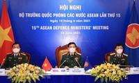 15차 아세안 국가 국방장관 온라인 회의