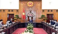 팜 민 찐(Phạm Minh Chính) 총리, 야마다 타키오 (Yamada Takio) 주 베트남 일본 대사 환대