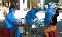 6월 17일 오전 베트남  7개 성시서, 국내 감염 코로나19 신규 확진 158건 발생
