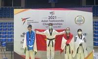 베트남, 2021년 아시아 태권도 선수권 대회서 첫 메달 획득