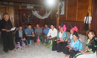 아름다운 생활을 보내는 선라 (Sơn La)성 소수민족 공동체