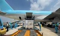 AstraZeneca 코로나-19 백신 120만 회분 베트남 도착