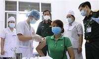 1만 2천 명 하노이 시민에 대한 Nano Covax 백신 3단계 시험 2차 접종